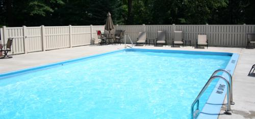 OLP pool and deck